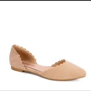 Restricted Go Ahead women's flats